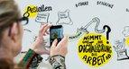Graphic Recording DGB-Digitalisierungskongress