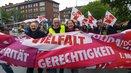 Kundgebung in Münster mit Annelie Buntenbach, DGB-Bundesvorstand