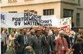 Deutsche Postgewerkschaft beim 1. Mai in Bochum