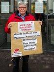 Heiner Boegler (DGB-Stadtverband Worms): Wir fordern, auch in Worms muss der kommunale Wohnungsbau mehr gefördert werden!