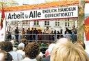 Anke Fuchs spricht beim 1.Mai 1988 in Bochum