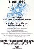 Plakat Antikriegstag 1990, 8. Mai