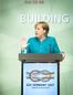 Bundeskanzlerin Angela Merkel beim L20 Gewerkschaftsgipfel in Berlin