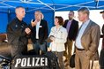 DGB-Sommertour 2017: Bundespolizei in Blumberg