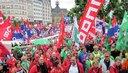 20000 GewerkschafterInnen waren in Luxemburg