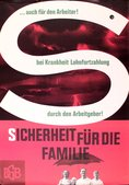 DGB-Plakat Sicherheit fuer die Familie
