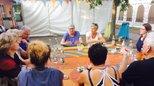 Bild von der Sommertour der stellvertretenden DGB-Vorsitzenen Elke Hannack