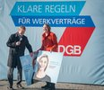 """Missbrauch von Werkverträgen: DGB-Aktion """"Finde den Fehler"""""""
