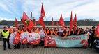Warnstreik bei Nolte in Germersheim: IG Metall und DGB demonstrieren für mehr Gehalt
