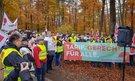 Warnstreik der Zivilkräfte US Army Kaiserslautern
