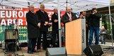 Martin Schulz (SPD) spricht in Bottrop auf der Maikundgebung.