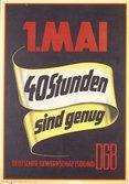 Mai-Plakat 1958