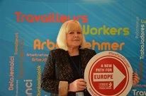 Ariadna Abeltina, Koordinatorin für Außenbeziehungen Freier Gewerkschaftsbund Lettland (LBAS)