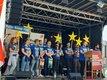 Die DGB-Jugend nutzt den 1. Mai auch in Siegen, um für ein solidarisches Europa zu werben.