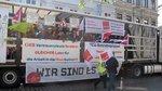 ver.di-Wagen in Bremen