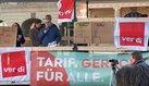 Elke Hannack zeigt Solidarität mit AMEOS-Beschäftigten in Magdeburg