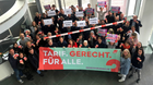 DGB-Beschäftigte solidarisch mit Kolleg/innen bei Gilde-Brauerei