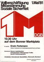 Mai-Plakat 1981