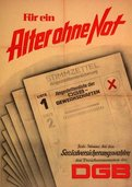 Kampagnenplakat 1958