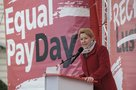 Bundesfrauenministerin Franziska Giffey beim Equal Pay Day 2019