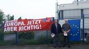 IG Metall-Vertrauensleute bei Claas Industrietechnik Paderborn.