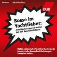 GKV-Parität Kampagnenkachel: Bosse im Yachtfieber