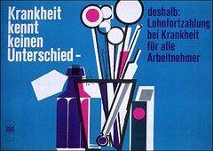 Kampagnen-Plakat 1956