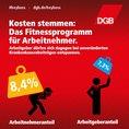 GKV-Parität Kampagnenkachel: Kosten stemmen: Das Fitnessprogramm für Arbeitnehmer