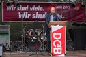 1. Mai in Göttingen: Thomas Fischer, Abteilungsleiter Grundsatz beim DGB Bundesvorstand