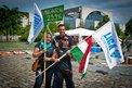 Ungarische Gewerkschaftsdelegation