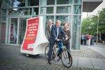 """DGB-Aktion """"Rente - Kurswechsel jetzt"""" in Berlin"""