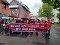 Der DGB-Demozug am 1. Mai 2017 in Heilbronn