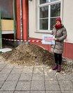 Investitionen in Friedrichshain für funktionieren Straßenbau und mehr Mülleimer