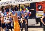 Musikwagen bei der Jobparade