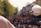 Musikzug durch Schwerin bei der Jobparade