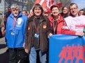 Bernard Thibault Gewerkschaft CTG Frankreich und Annelie Buntenbach
