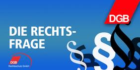 Logo DGB Rechtsfrage