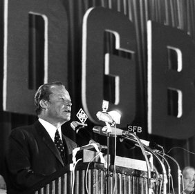 DGB Kongress 1971 Willy Brandt