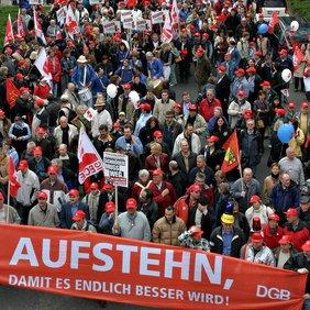 DGB Geschichte 2004 Demo