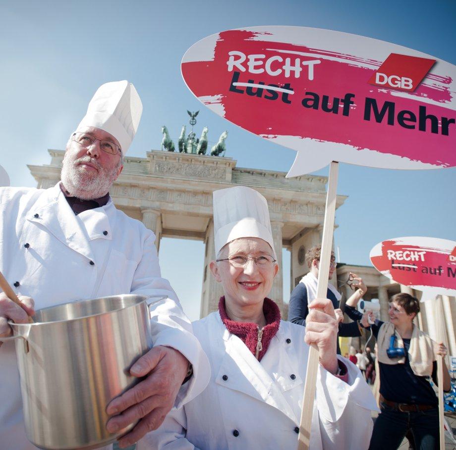 DGB Geschichte 2012 Demo Berlin