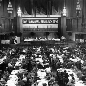 DGB 1953 Für einen besseren Bundestag
