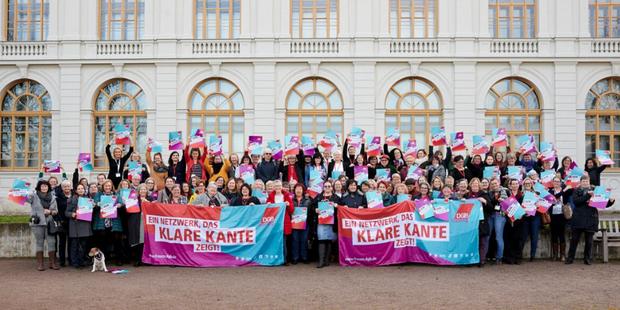 Gewerkschafterinnen auf der Frauentagung in Weimar am 17. Januar 2020