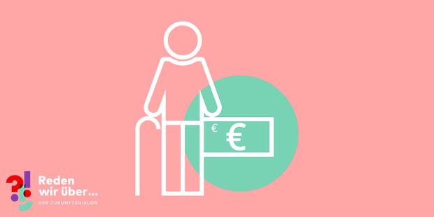 Alter Mann Armer Rentner Pensionär: Diskutiere mit im DGB-Zukunftsdialog