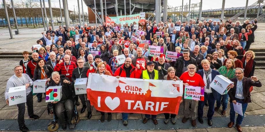 DGB-Regionalkonferenz solidarisch mit Kolleg/innen der Gilde Brauerei Hannover